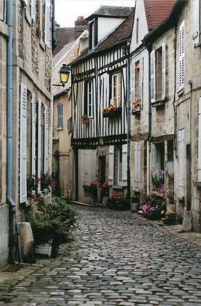 Senlis, the Royal City, in Picardie, France created by phiphi747