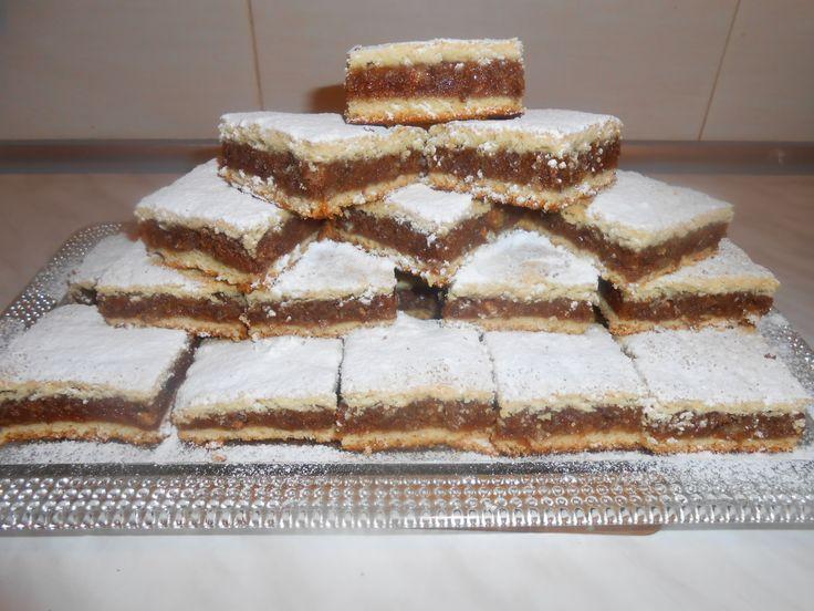 Reteta Placinta cu mere si nuca (de post) - Dulciuri