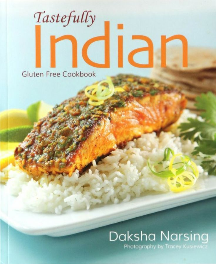 Daksha's Latest Cookbook! Tastefully Indian offers delicious #Indiancuisine as a #glutenfree option. Inspired by #recipes handed down by her mother and grandmother, Daksha Narsing has compiled an exciting selection of dishes in this, her fourth cookbook. She also mixes Indian with Western cooking styles to offer a range of fusion dishes. Spicy Beef Pepper Pot, Lamb Vindaloo and Rotla (Millet Roti) are just three examples of easy-to-make recipes in this #cookbook.
