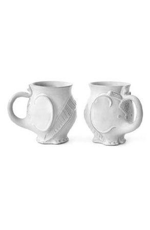 1000 images about elephants on pinterest asos elephant pillow and elephant fabric - Jonathan adler elephant mug ...