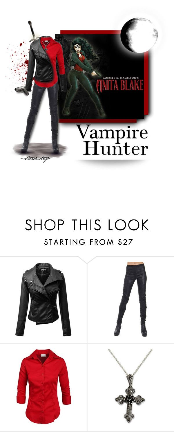 """Most Loved Character: Anita Blake - Vampire Hunter"" by stardustnf ❤ liked on Polyvore featuring Trilogy, Rick Owens, NOVICA, polyvorecontest, AnitaBlake, vampirehunter and fearlesscrew"