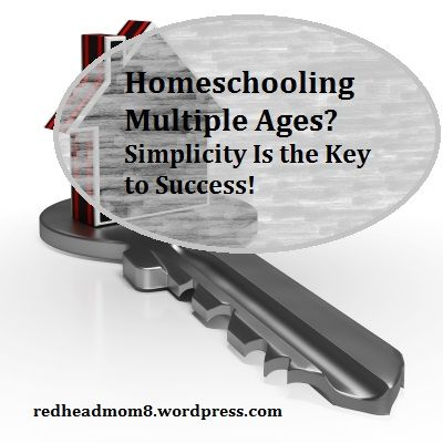 Of all of the fears I hear from would-be homeschoolers, the issue of multi-level homeschooling is very near the top of the list. I can totally identify with that because that was one of my very own…