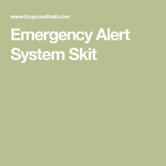Emergency Alert System Skit