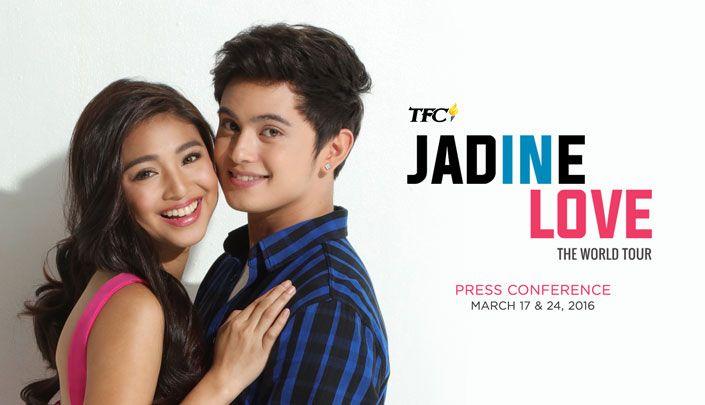 JaDine In Love EMEA Presscon pinoy movie hd