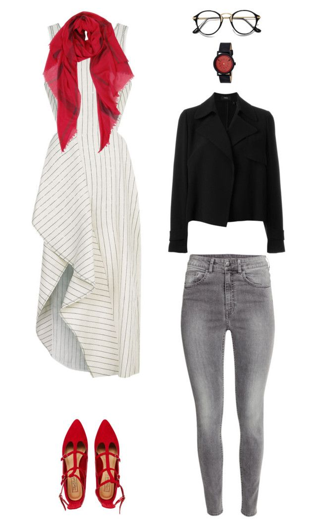 """""""Untitled #72"""" by priliscaa on Polyvore featuring H&M, 3.1 Phillip Lim, Theory, Truffle, Humble Chic and Simplify"""