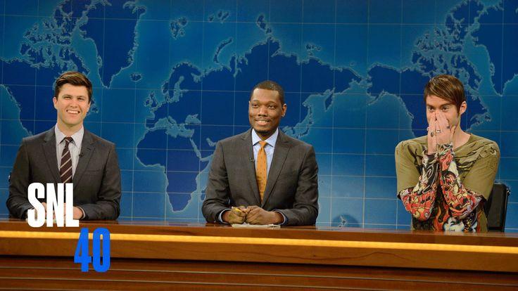 Weekend Update: Stefon Returns - Saturday Night Live  C.R.A.C.K. me up!!!! :D
