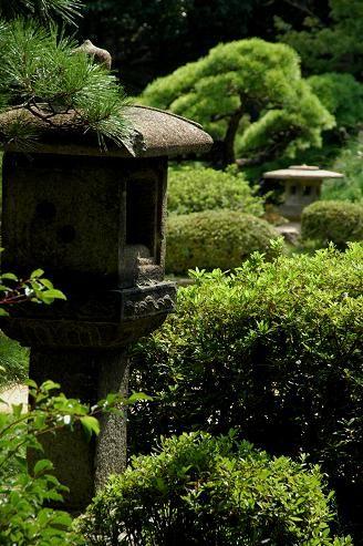 相楽園 : 日本庭園
