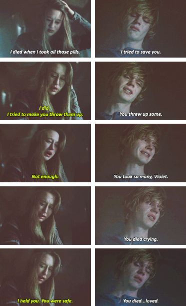 American Horror Story - this part always freaks me out and makes me sad at the same time