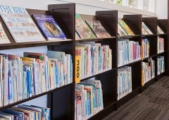 Lundia School Library Shelving