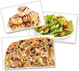 CiCi's Pizza Buffet dine-in for a custom pizza buffet or carry-out