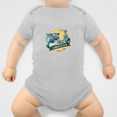LAMBRETTA 125 B Baby Clothes by Chicca Besso - $20.00