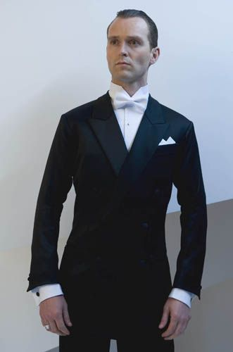 Men's tuxedo for smooth - DSI London. Visit http://ballroomguide.com/comp/attire/man.html for more info about competition attire.