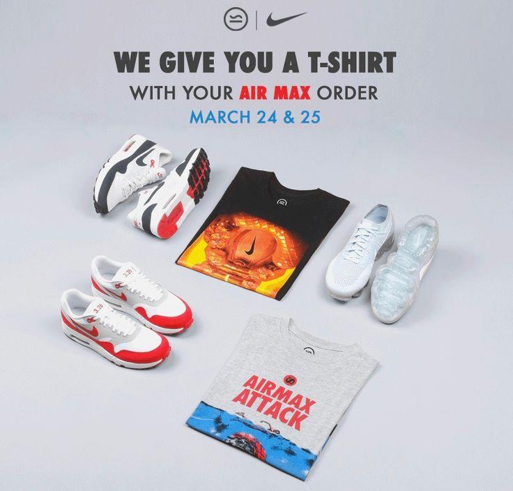 Nike Air Max Day T-Shirt Giveaways with Sivasdescalzo Barcelona - EU Kicks: Sneaker Magazine
