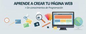Como crear una pagina web gratis y facil