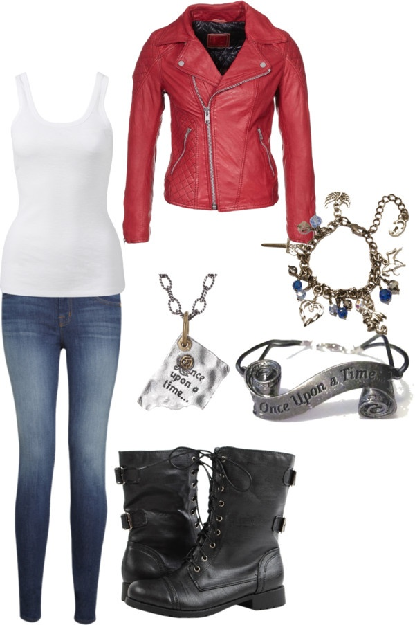 """Once Upon A Time Emma Swan"" by chelgeland ❤ liked on Polyvore"