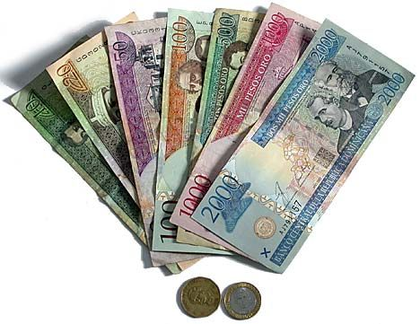 Dominican Pesos The Currency Of Republic Is Worth Much Lower Value Than That An American Dollar 1 Us I