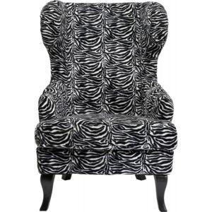 Fauteuil à Oreilles Zebra Kare Design