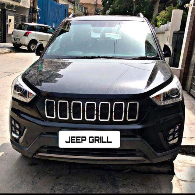 This Modified Hyundai Creta Wants To Be A Jeep Compass Jeep