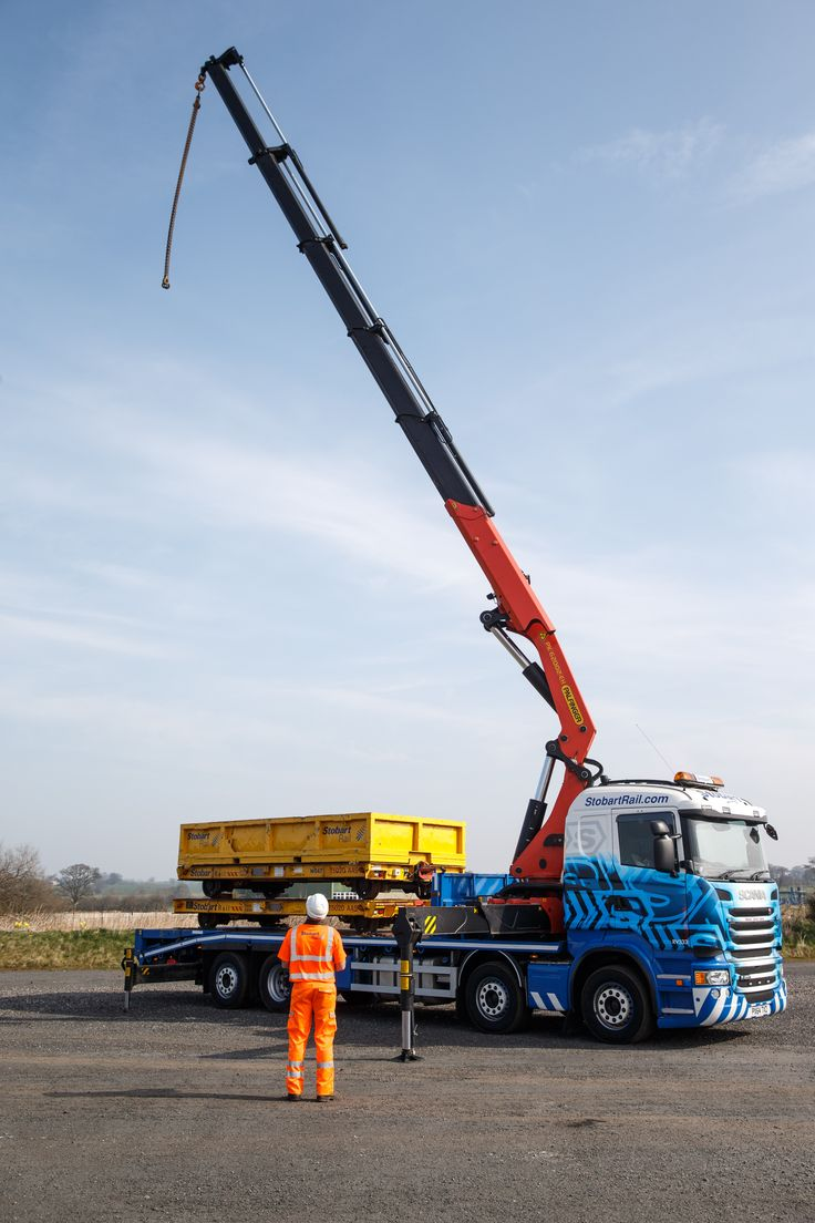 Stobart Rail Crane