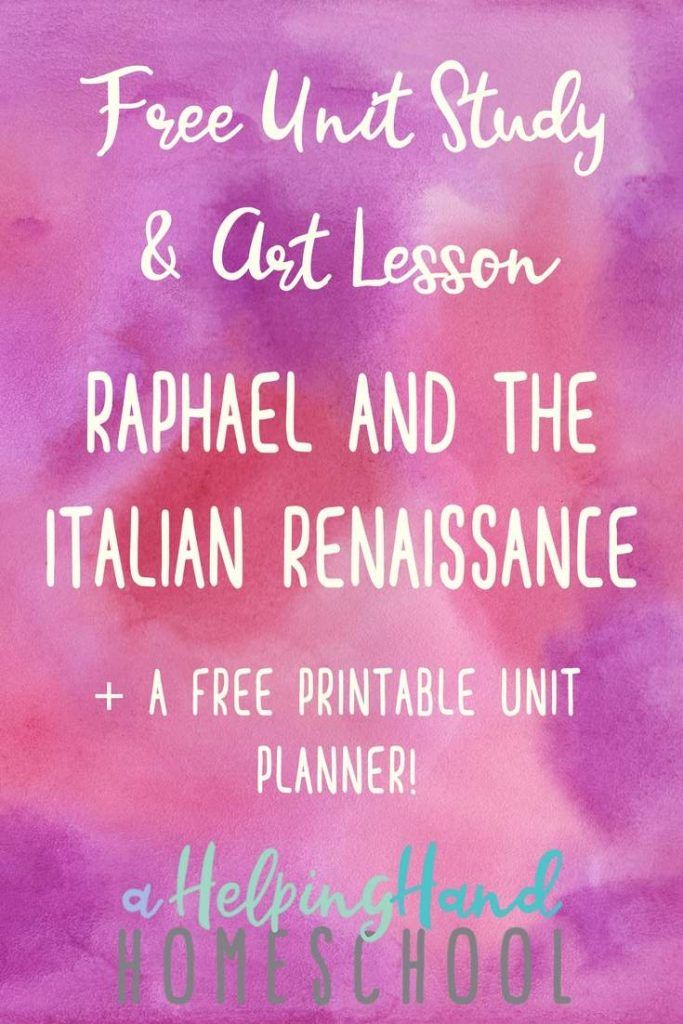 Studying About Raphael and the Italian Renaissance