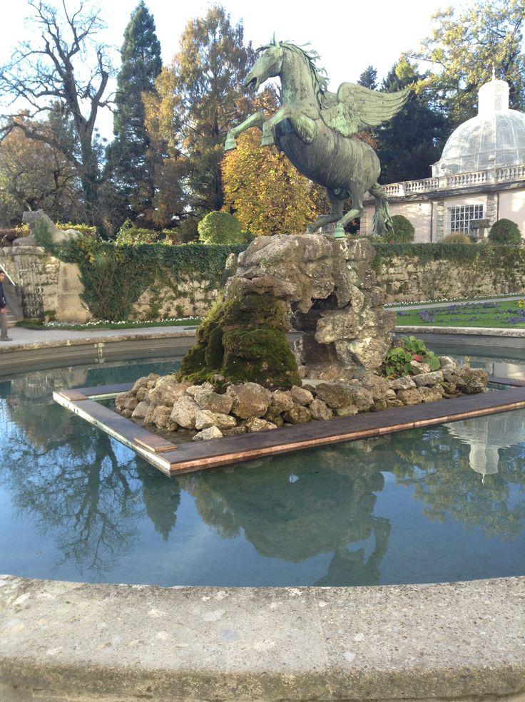 Mirabell Gardens (Сады Мирабель). Один из самых необычных и красивых садов Европы! Стиль барокко.