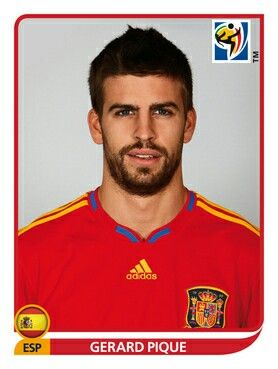 566 Gerard Pique - España - FIFA World Cup South Africa 2010