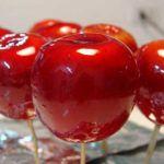 postres para niños: manzanas acarameladas