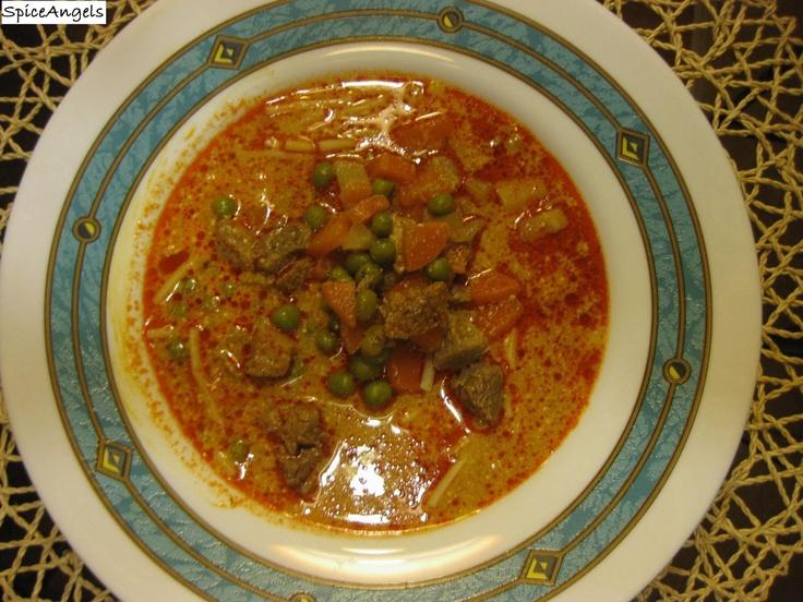 SpiceAngels: Sertésragu leves zöldborsóval