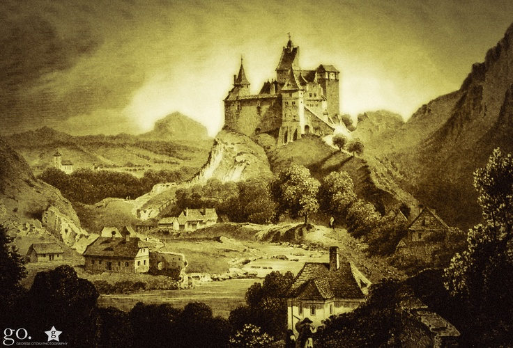 Cetatea Bran - Ludwig Rohbock