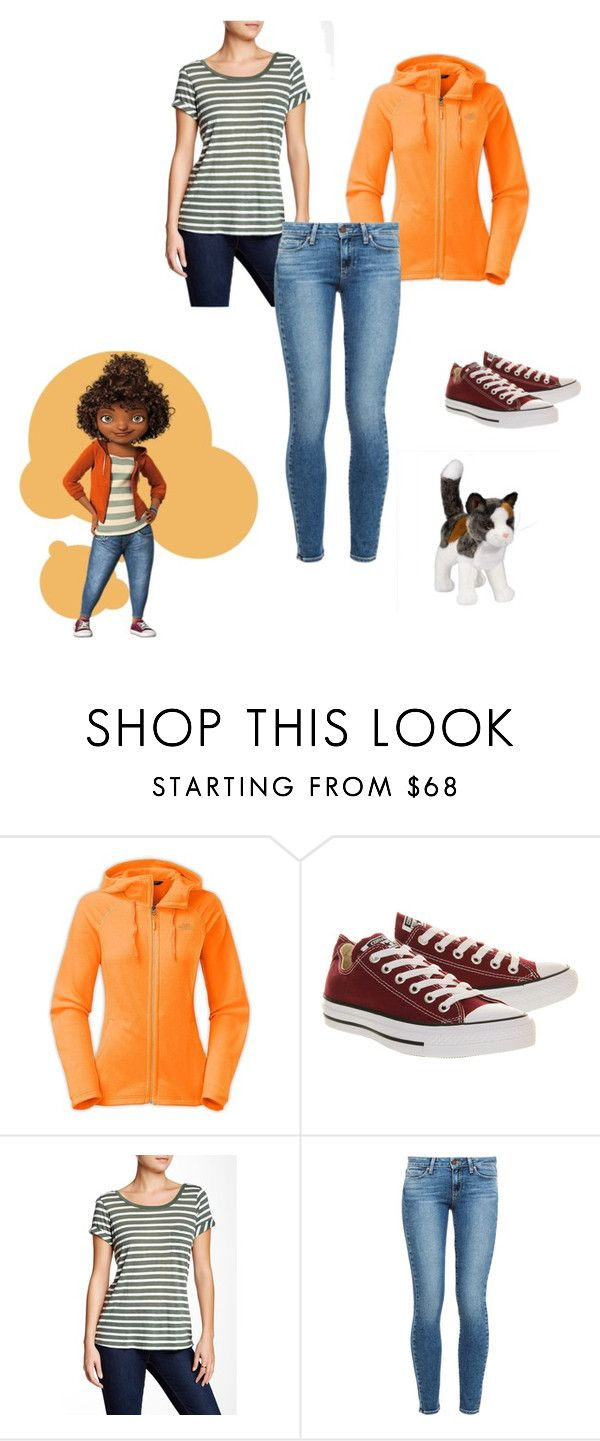 """""""Gratuity Tucci (Tip)-Home"""" by isabel30duff ❤ liked on Polyvore featuring The North Face, Converse, Splendid and Paige Denim"""
