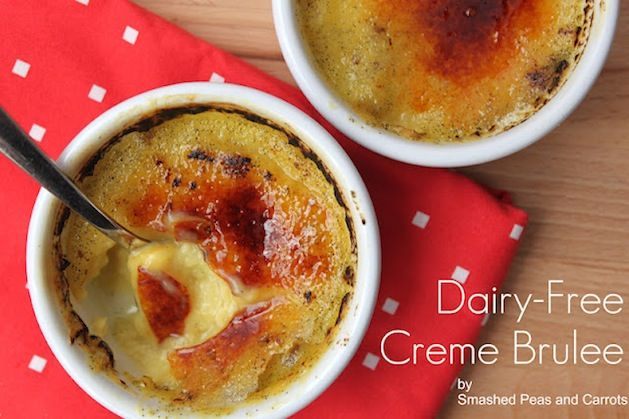 Recipe: Dairy-Free Creme Brulee from Maggie of Smashed Peas and Carrots: Coconut Milk, Creme Brûlée Recipes, Carrots, Gluten Free, Dairy Fre Creme, Smash Peas, Cremebrulee, Creme Brulee, Dairy Free Creme