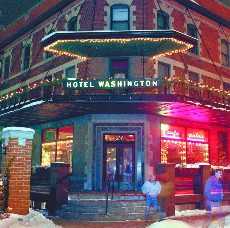 Cafe Palms In The Hotel Washington Madison Wisconsin Pinterest Area Restaurants And F C
