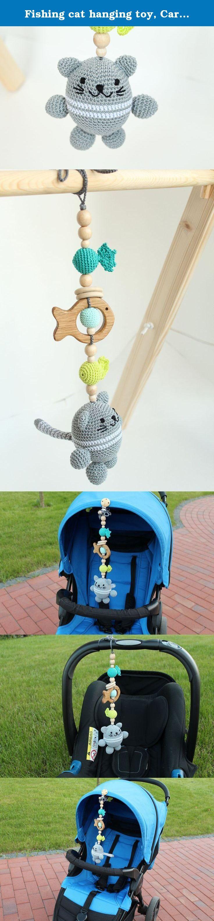 Best crib toys your baby - Fishing Cat Hanging Toy Car Seat Toy Pram Toy Stroller Toy Crib
