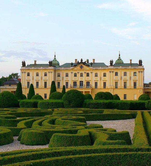 Branicki Palace, Bialystok Poland