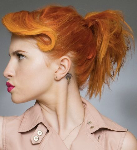 Hayley Williams is a huge hair inspiration for me.