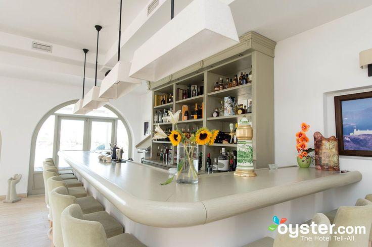 Indoor Breakfast Area & Bar at the Saint Andrea Seaside Resort