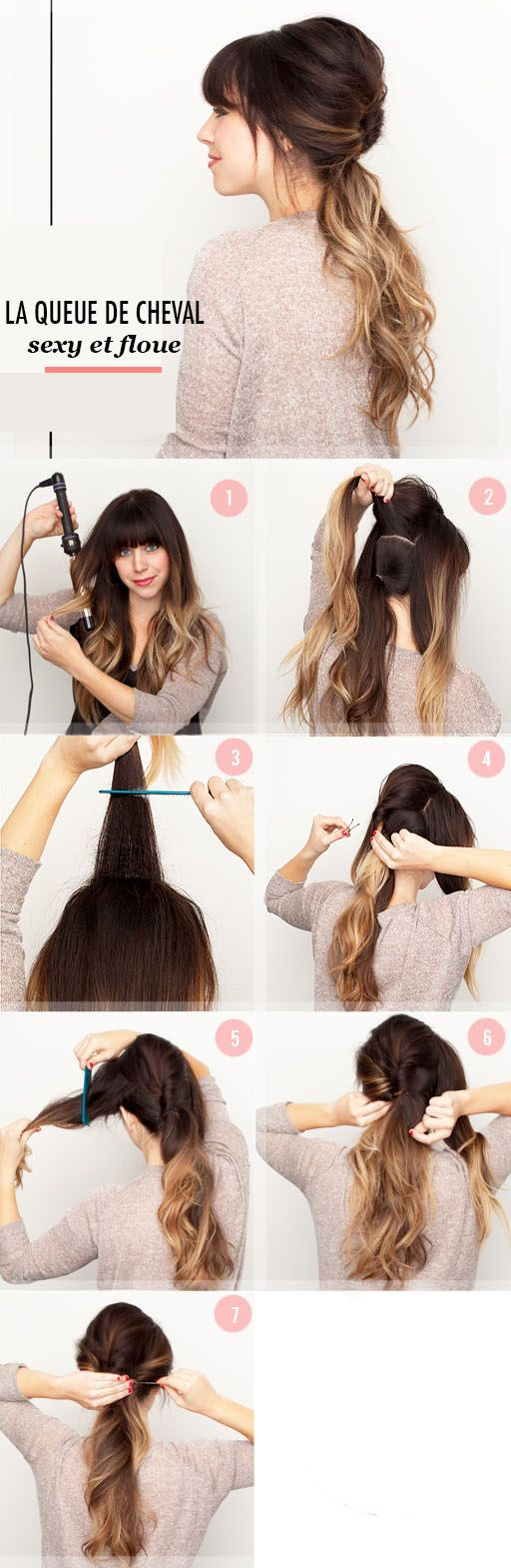 1000 Ides Sur Le Thme Queues De Cheval Sur Pinterest Tresses