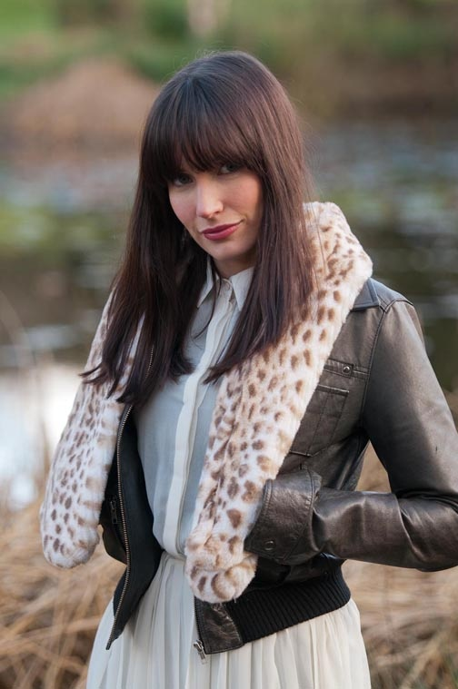 Racoon Tail Scarf