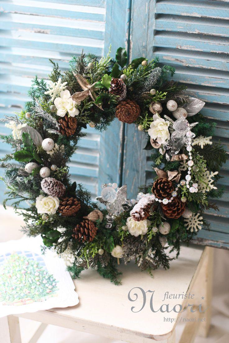 Christmas wreath 2014 クリスマスリース エンジェル angel