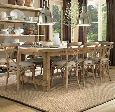 rustic farmhouse table 2