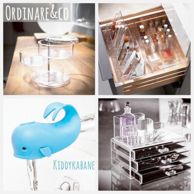 17 migliori idee su organizzazione bagno su pinterest - Organizzare cassetti bagno ...
