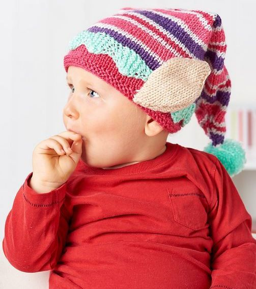 How To Loom Knit A Baby Elf Hat 2017