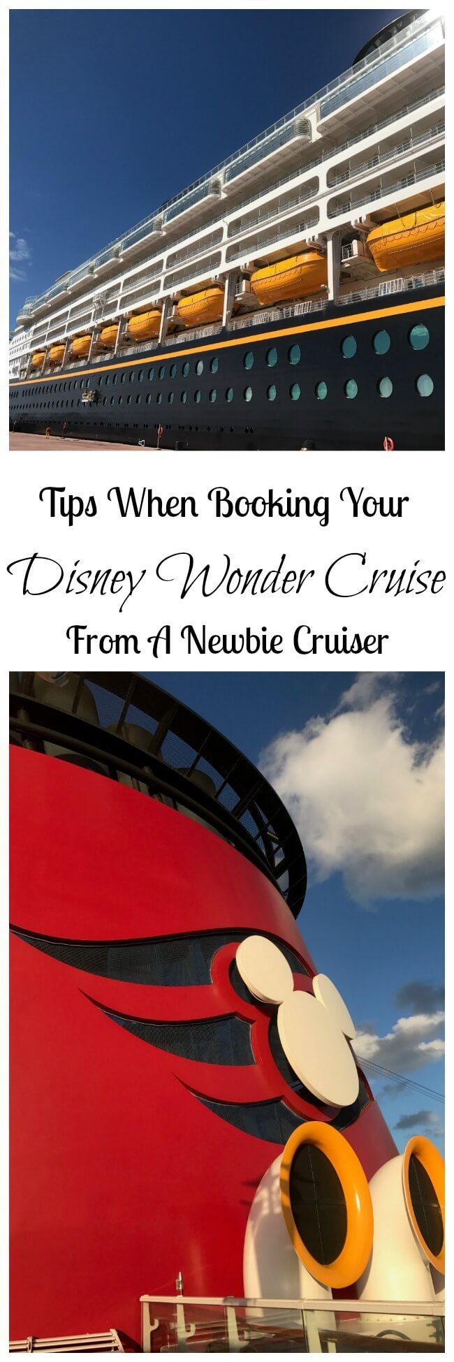 When I first found out we were going on a Disney Cruise, I'll admit that I was a little nervous. I'm not a boat person at all and I really get sea sick and have had some embarrassing moments aboard a boat. But I've never been on a cruise, especially a Disney Cruise. Now I …
