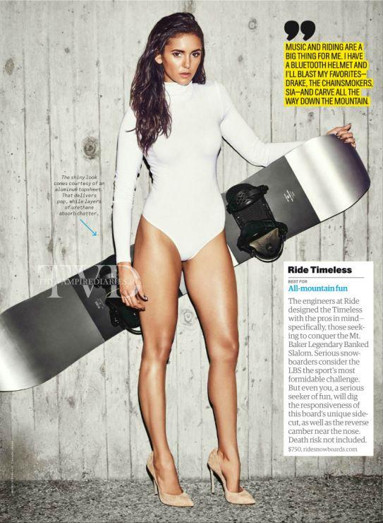 Nina Dobrev for Men's Health Magazine Tech Guide 2017