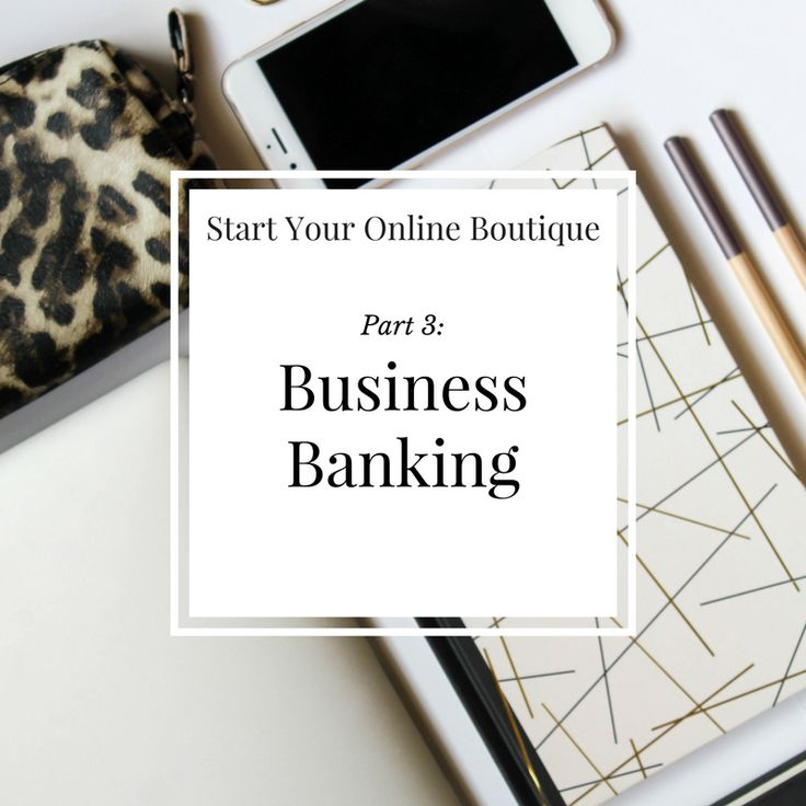 One thing that I didn't hear much about when I first started my online boutique was business banking. When you walk into a bank it feels good to ask about the business bank accounts and open your first one but there are a few things you should know before you open your first account.