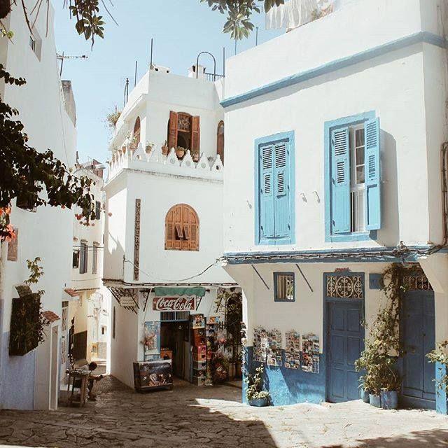 #moroccomaroc: Medina of Tangier (Morocco).