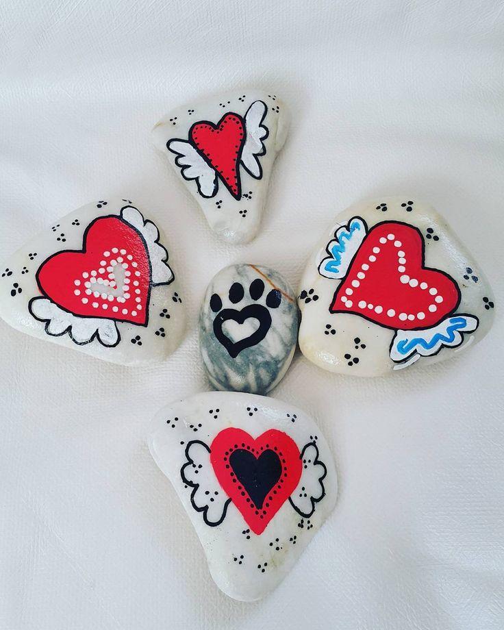 #tas #tasboyama #tassusleme #stones #pebbles #hediye #kisiyeozel #siparis #cats #catlovers #kedi #kedisever #yardim #barinak #iyilikpesindekos #friends