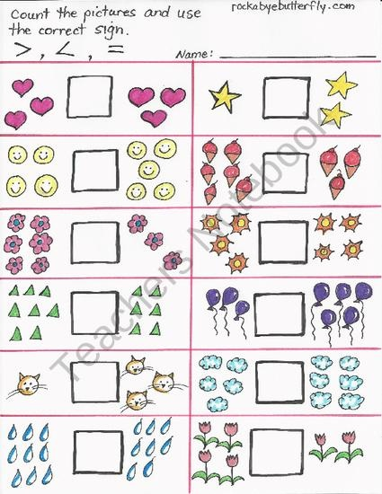 76 best greater than/less than images on Pinterest | Teaching math ...