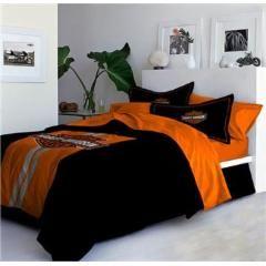 Harley Davidson Legend Bedding - Full Comforter/Sham Set