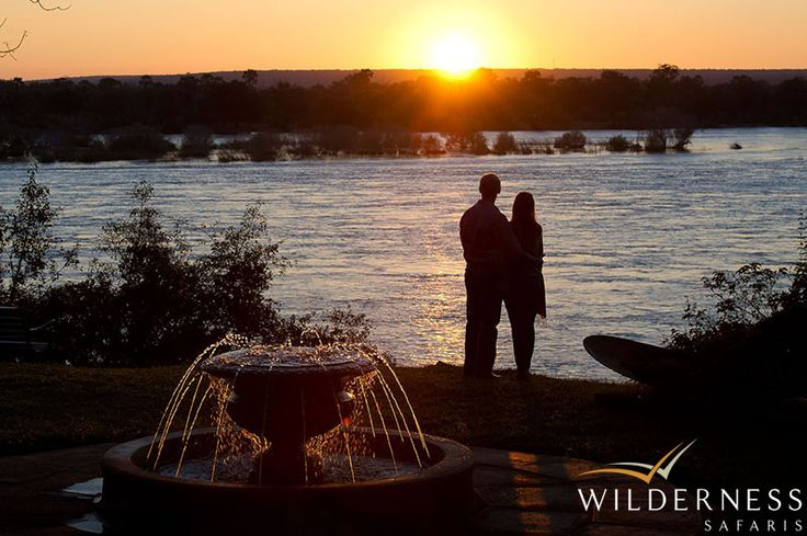 The River Club also provides a special setting for a wedding away from it all #Safari #Africa #Zambia #WildernessSafaris